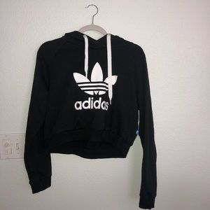 Women's Adidas Cropped Hoodie. Great Condition.